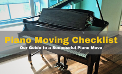 Piano Moving Checklist